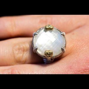 Judith Ripka moonstone ring size 6.5/7